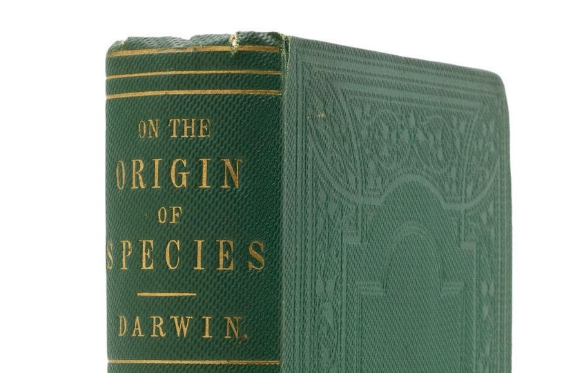 A rare presentation copy of Charles Darwin's On the Origin of Species