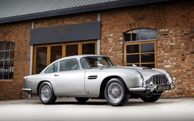 James Bonds 1965 Ason Martin DB5 up for auction at RM Sothebys