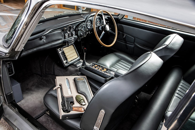 The iconic car is expected to fetch up to $6 million when it goes up for sale in Monterey on August 14