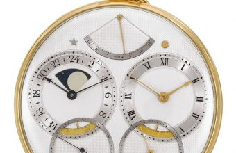 George Daniels' Space Traveller I watch up for auction at Sothebys