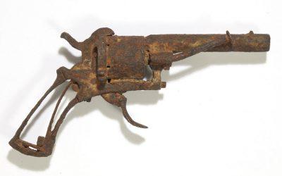 gun that killed vincent van gogh sold at auction in paris
