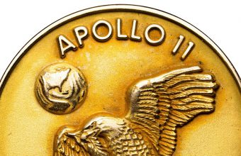 Neil Armstrong Apollo 11 gold robbins medal sold at auction for $2 million