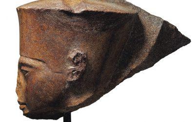 Tutankhamen head sculpture sold in controversial Christie's auction for $5.9 million