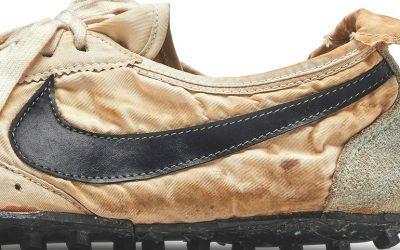 The world's oldest Nike brand running shoes are up for auction at Sotheby's this month