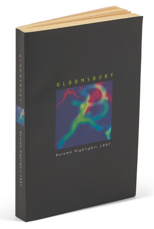 The Bloomsbury trade-only 'highlights' book marked the first time the character of Harry Potter had ever officially appearade in print
