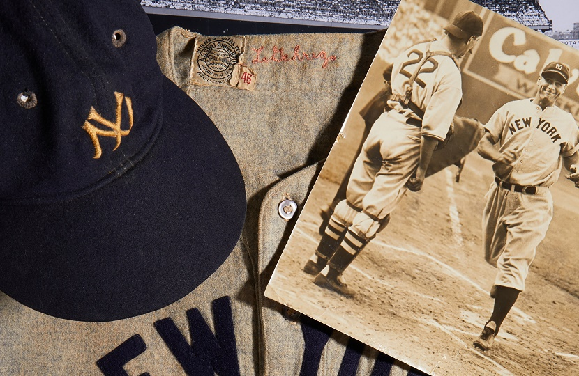 Lou Gehrig New York Yankees jersey could sell for $2 million at Heritage Auctions