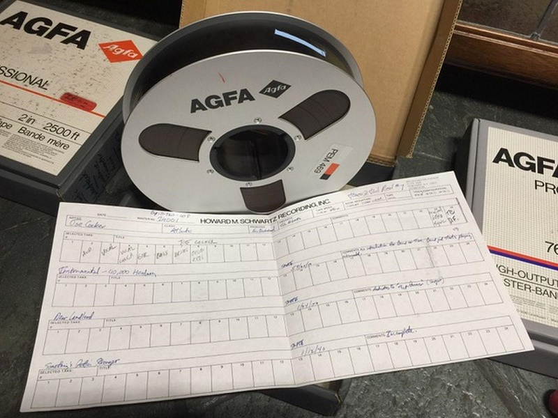 The archive of original master tapes belonged to Eric Blackstead, producer of the Woodstock album, and is one of only four sets in existence (Image: JustCollecting)