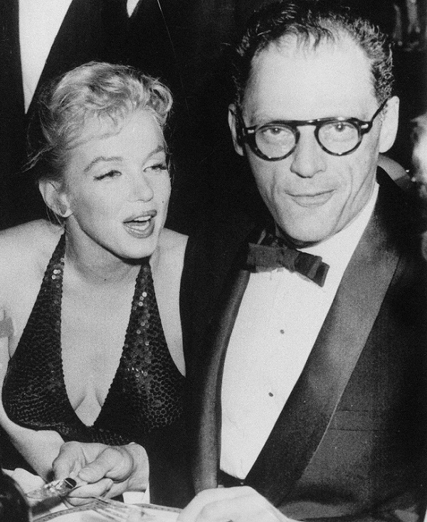 """The marriage between Monroe and Miller surprised many of her fans, and led to the famous headline """"Egghead Weds Hourglass"""" (Image: Wikipedia)"""