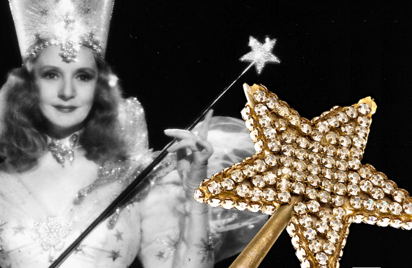 Glinda the Good Witch's Wizard of Oz wand to auction at Bonhams