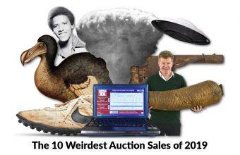 The 10 Weirdest Auction Sales of 2019
