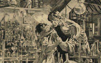 Bernie Wrightson's original Frankenstein cover art sold for world record $1.2 million