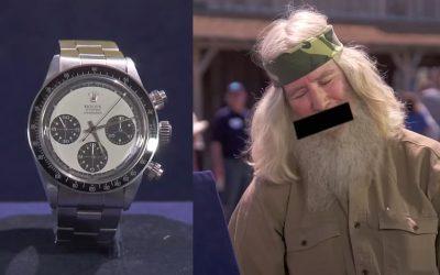 Vintage Rolex value stuns guest on Antiques Roadshow