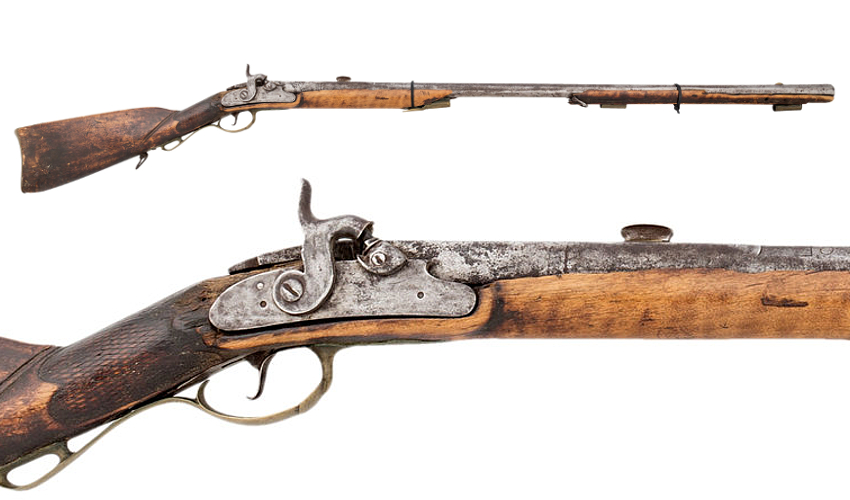 Calamity Jane's Percussion Kentucky Rifle (Image: Heritage Auctions)