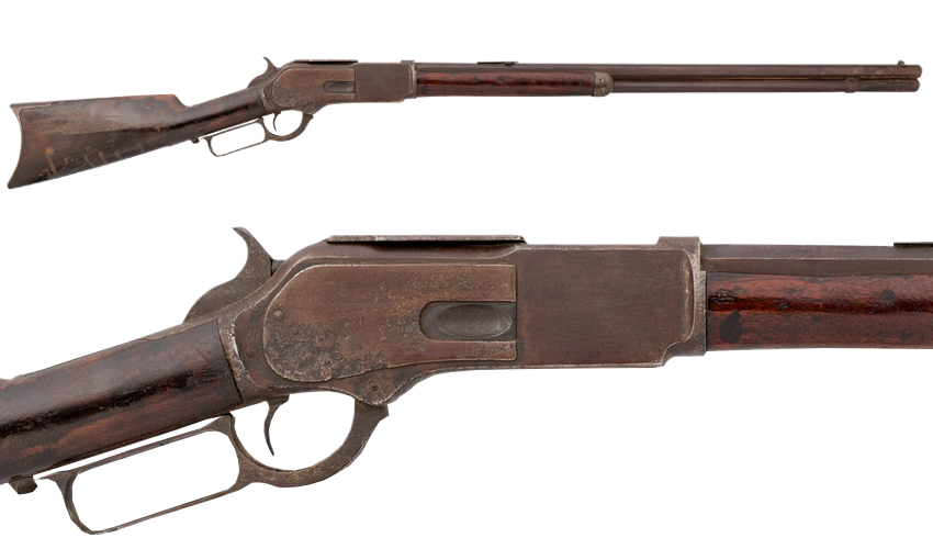 Calamity Jane's Winchester Model 1876 Lever Action Rifle (Image: Heritage Auctions)