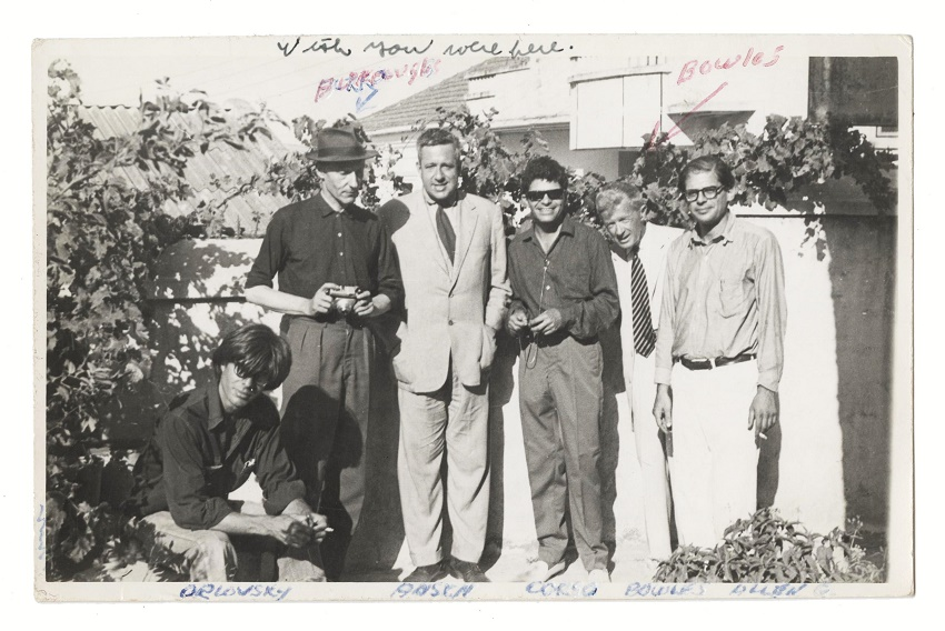 Allen Ginsberg's postcard to Jack Kerouac from Tangiers in 1961 (Image: University Archives)