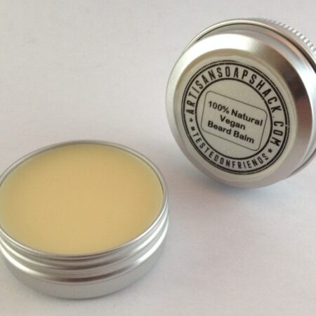 A 30g tin of Moustache Beard Balm, Grooming for Men