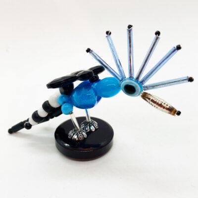 Hope the Blue Hoopoe Bird