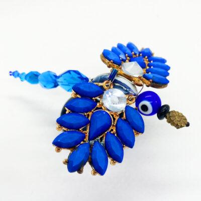 Pricilla the Blue Parrot