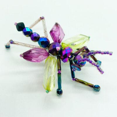 Priscilla the Purple Winged Grasshopper