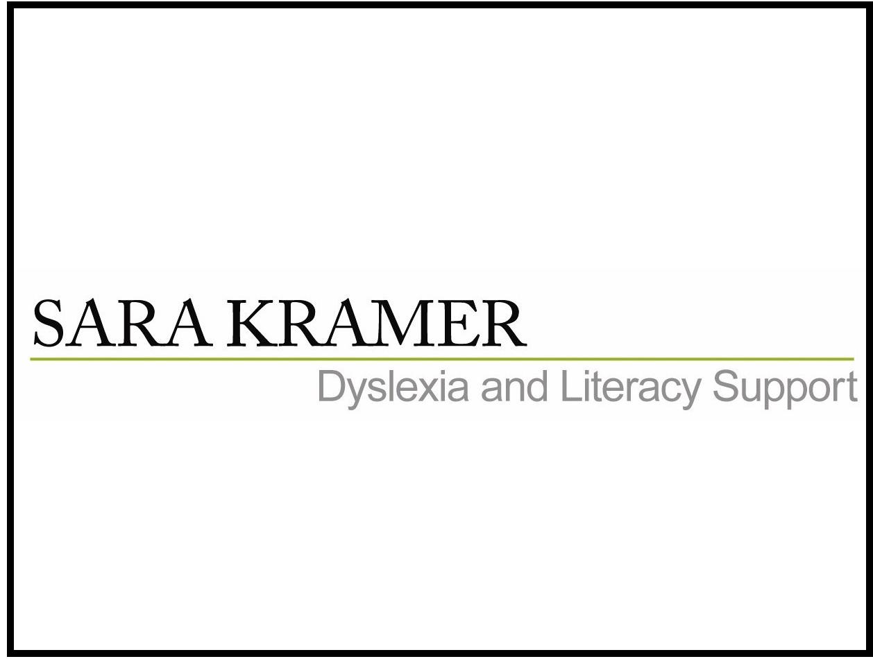 Dyslexia & Literacy Support
