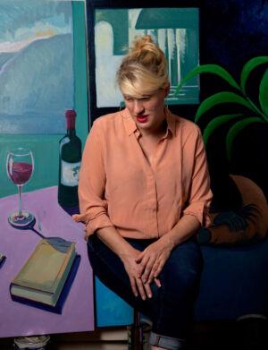 The Wick - Nancy Cadogan Portrait