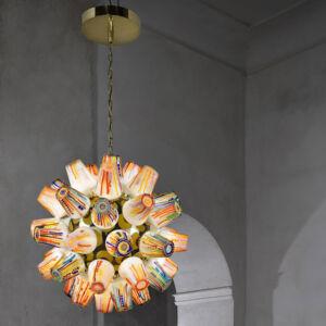 The Wick -  Candy Sculpture Sphere Chandelier, Estudio Campana