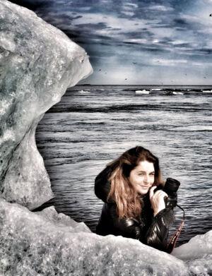 The Wick - Maryam Eisler, Iceland Portrait
