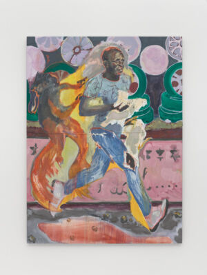The Wick - The Chicken Thief, Michael Armitage, 2019