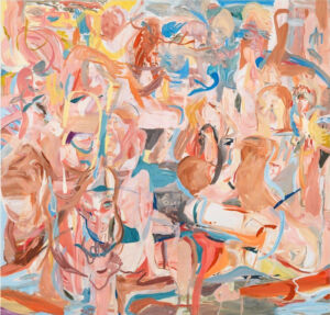 The Wick - Combing the Hair (Côte d'Azur), Cecily Brown, 2013