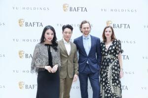The Wick - Wendy Yu, Li Zonghan, Tom Hiddleston, Amanda Berry,  Courtesy of BAFTA