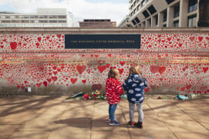 The Wick - The National Covid Memorial Wall Photo by Henri Calderon 2021