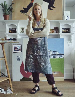 The Wick - Christabel Blackburn in the studio