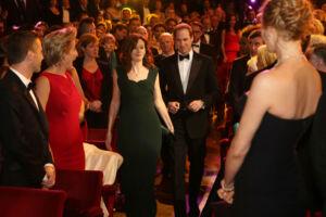 The Wick - Amanda Berry at Royal Opera House with HRH The Duke of Cambridge,  Courtesy of BAFTA