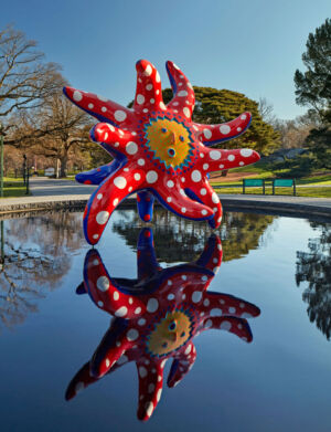 The Wick - I want to Fly to the Universe New York Botanical Garden Courtesy of Ota Fine Arts Photo by Robert Benson photography