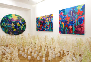 The Wick - Installation at Grove Square Galleries © Paul Aitchison