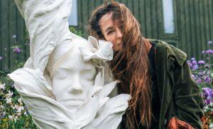 The Wick - Jasmine Pradissitto with Flower Girl