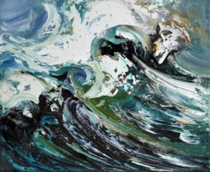 The Wick - Crest of a Wave, Maggi Hambling, 2009