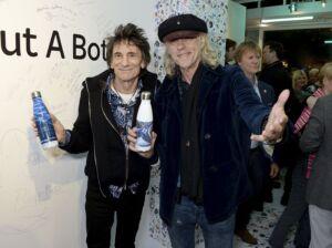 The Wick - Ronnie Wood and Bob Geldof