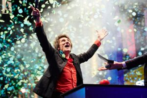 The Wick - Ronnie Wood switching on the Christmas lights