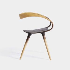 The Wick - Objects Jan Waterson, Fumed Velo DB Chair