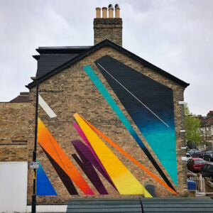 The Wick - Remi Rough, 2021 East Dulwich mural