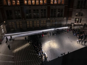 The Wick - before sleep at the end of love (description of a lullaby), an opera by Sarah Hardie at the V&A. Image by William Wong