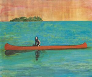 The Wick - Discover Peter Doig, Island Painting (2000-2001)