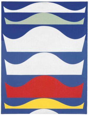 The Wick - Sophie Taeuber-Arp, Coloured Gradation, 1939