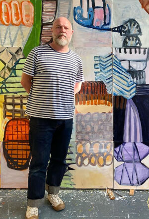 The Wick - Feature Painter and Poet Martin Gayford