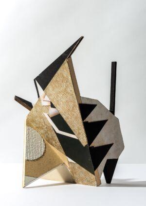 The Wick - Maquette for Future Sculpture, 2017-2019 1 x 21.1 x 24.9