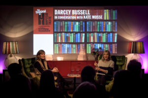 The Wick - Kate Mosse at the Hampstead Literary Festival interviewing Darcey Bussell