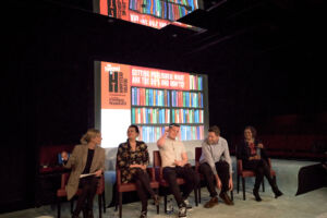 The Wick - Kate Mosse at the Hampstead Literary Festival with guests including Max Porter and Meera Syal