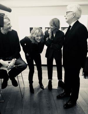 The Wick - Kate Mosse with Lee Child JoJo Moyes and Ken Follett in Berlin, 2019.