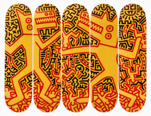 The Wick - Design Keith Haring x The Skateroom